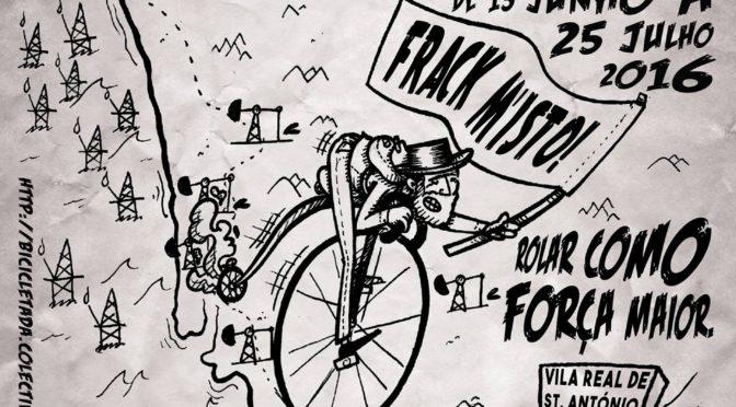 Bicicletada contra o fracking