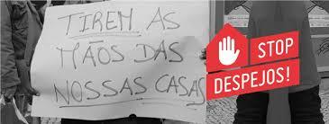 PANFLETO DA PLATAFORMA: STOP DESPEJOS
