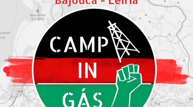 Acampamento de Acção na Zona Centro vai juntar activistas numa acção de desobediência civil contra furos de gás.