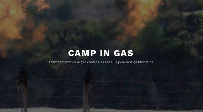 Foi assim o acampamento e acção contra gás fossil e pela justiça climática – CAMP-IN-GÁS