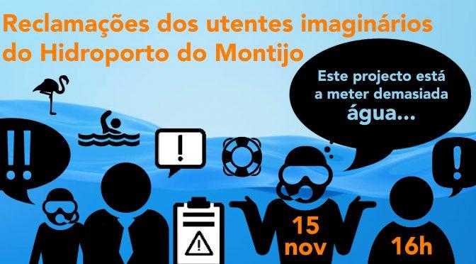 Sexta feira (15/11) juntem-se à revolta de utentes do Hidroporto do Montijo!
